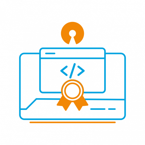 The Open Source Code Signingcertificate is meant for software developers and publishers who work under the Open Source licence.